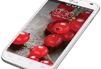 LG Optimus L7: revisión del modelo, comentarios de los clientes y expertos