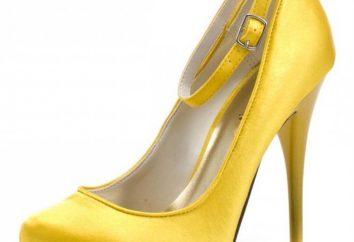 Trend słonecznej wiosny – żółte buty