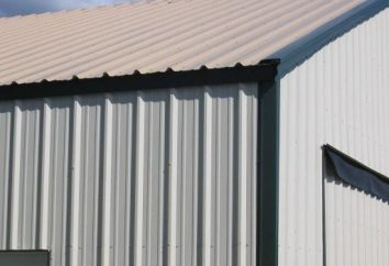 tapume de metal: especificações e instalação
