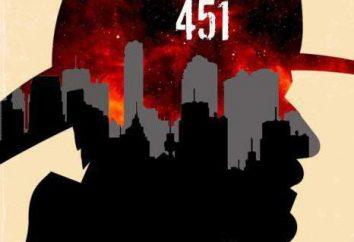 """Resumo da """"451º Fahrenheit,"""" Rey Bredberi. A história da criação, o personagem principal"""