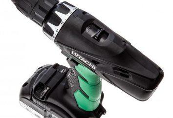 Cordless Impact broca Hitachi DV18DCL2: especificações, comentários
