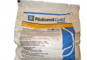 """Fungicida """"Ridomil Oro"""": istruzioni per l'uso, vero e proprio"""