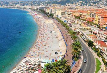 Promenade des Anglais in Nizza – die Karte von Luxus-Resort