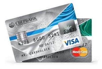 « Momentum » Carte (Sberbank): comment obtenir et comment l'utiliser. Conditions, instructions et commentaires