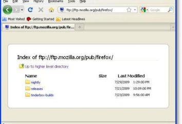 Détail qui se trouve sur le serveur FTP