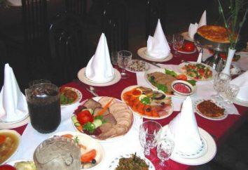 Bem escrito banquete menu – a chave para o sucesso da celebração
