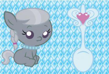 colher de prata para o bebê. não é um dom?