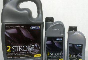 Olej do silników dwusuwowych: cechy marki, wykorzystanie