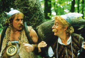 """O filme """"Asterix e Obelix contra César"""": os atores, o enredo ea história"""