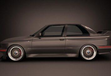 BMW serii 3 (BMW E30): dane techniczne i zdjęcia