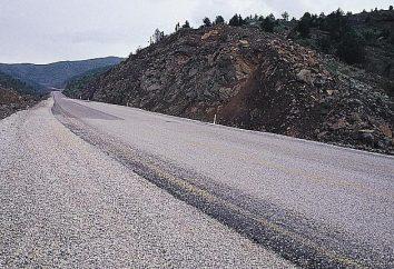 le dumping route. la technologie de construction de routes