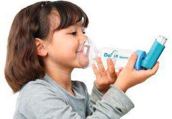 Inhalation mit Dioxydinum: procedure Regeln