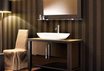 Pia com um armário para o banheiro – prático, funcional e bonito!
