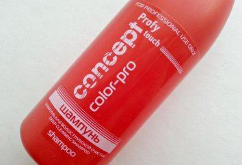 """""""Concept"""" (zabarwienie szampon) opis, instrukcje stosowania i zwrotnych"""