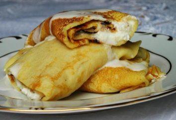 Naleśniki z serem: przepis na pyszny i prosty deser