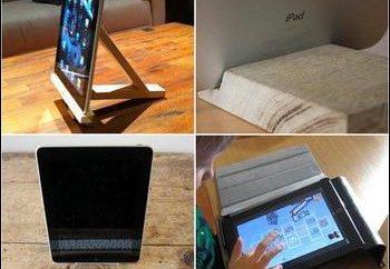 ¿Cómo es un soporte para la tableta con sus propias manos?