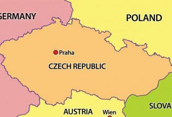 Geografía, características naturales y la zona de República Checa. datos interesantes sobre el país