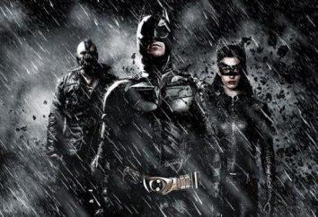 """The Dark Knight Rises."": Actores y roles"