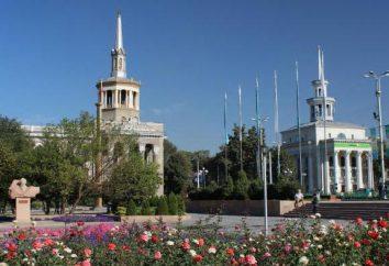Bishkek attrazioni della città e luoghi di interesse intorno a