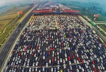 La strada più largo del mondo e in Russia