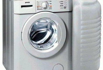 Máquina de lavar roupa com o tanque de água: o dispositivo e os critérios de selecção