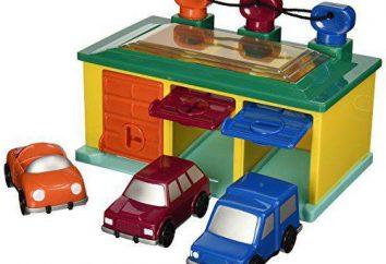 Crianças garagem para máquinas com suas próprias mãos