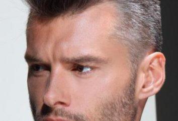 Uomini tinture per capelli: i tipi, marche, gamma di colori