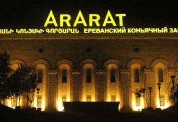 La mejor coñac armenio: el nombre. El más famoso coñac armenio