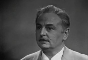 El actor Boris Ivanov: biografía, filmografía, fotos