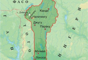 A República da história Benin e da população