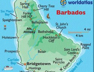 capitale de la Barbade, du tourisme, vacances, voyages