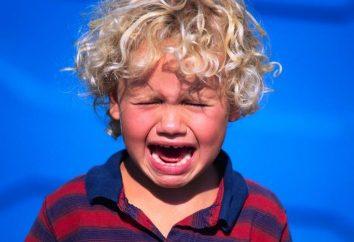 Comment calmer les enfants hystériques?