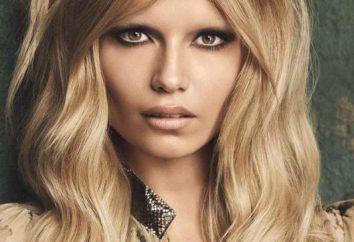 supermodelo mundo com raízes russas: Natasha Poly