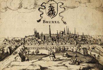 Onde está Bruxelas? No Reino da Bélgica