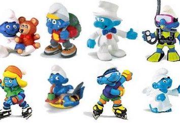 I Puffi Giocattoli: blu gnomi divertenti