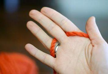 Knitting Hände: Technik und Empfehlungen. Was ist Stricken an den Fingern?