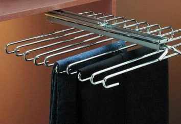 Hanger per i pantaloni – comodità e ordine