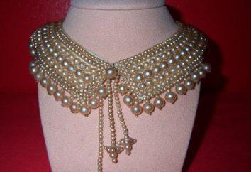 Colliers en perles: une nouvelle tendance fraîche