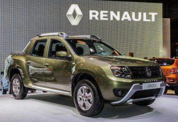 "Nowa ciężarówka pick-up ""Renault Daster"" 2015-2016"