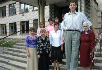 Leonid Stadnik – o homem mais alto do mundo: o crescimento, fotos