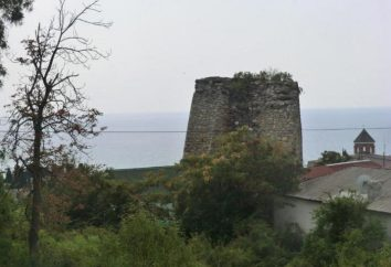 Aluston – fortaleza em Crimeia. atrações Visão Geral