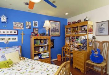 Oryginalny pokój chłopca