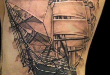 """Tatuaż """"statek"""": tajny sens niesie to zdjęcie?"""