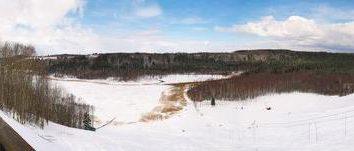 """A estância de esqui """"Malskaya Valley"""", fotos Pskov e comentários"""