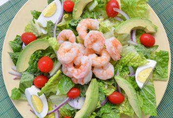 Ensalada de la dieta proteínas de la dieta