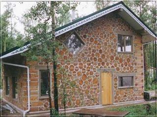 Comment faire une maison en bois et d'argile