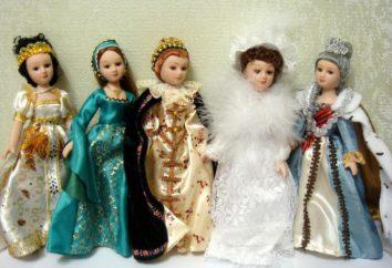 """Collection """"DeAgostini"""": poupées en costumes folkloriques"""