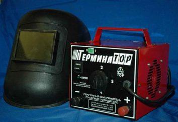 """aparatos de soldadura """"Terminator"""": esquema de descripción, manual de instrucciones"""