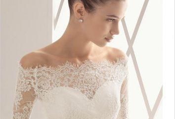 Ślub bolerko – podkreślają strój panny młodej