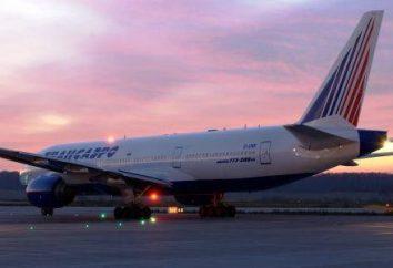 """flotte """"de Transaero"""". """"Transaero"""": des avions. """"Transaero"""" (Moscou): avis"""